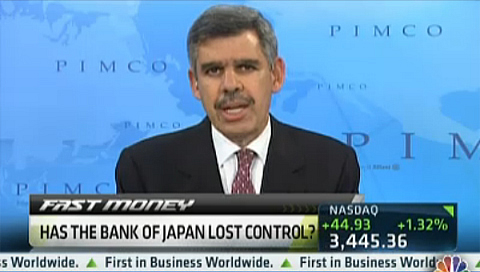 Mohamed El-Erian on CNBC